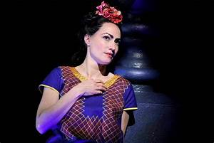 Vanessa Severo portrays Frida Kahlo